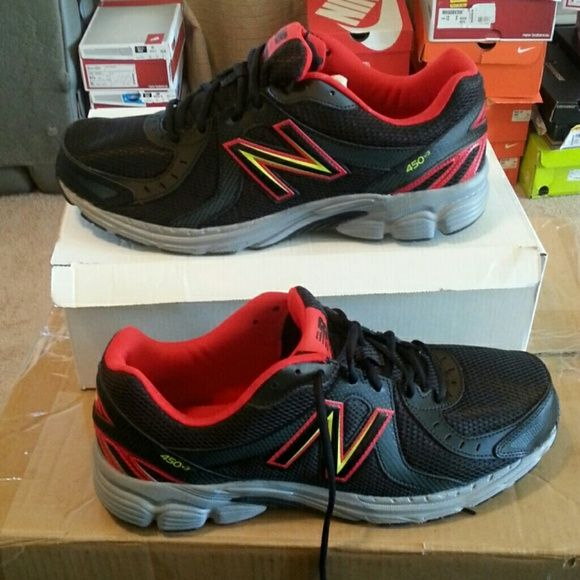 New new balance men running sneakers size 13 wide New New Balance Shoes Athletic Shoes