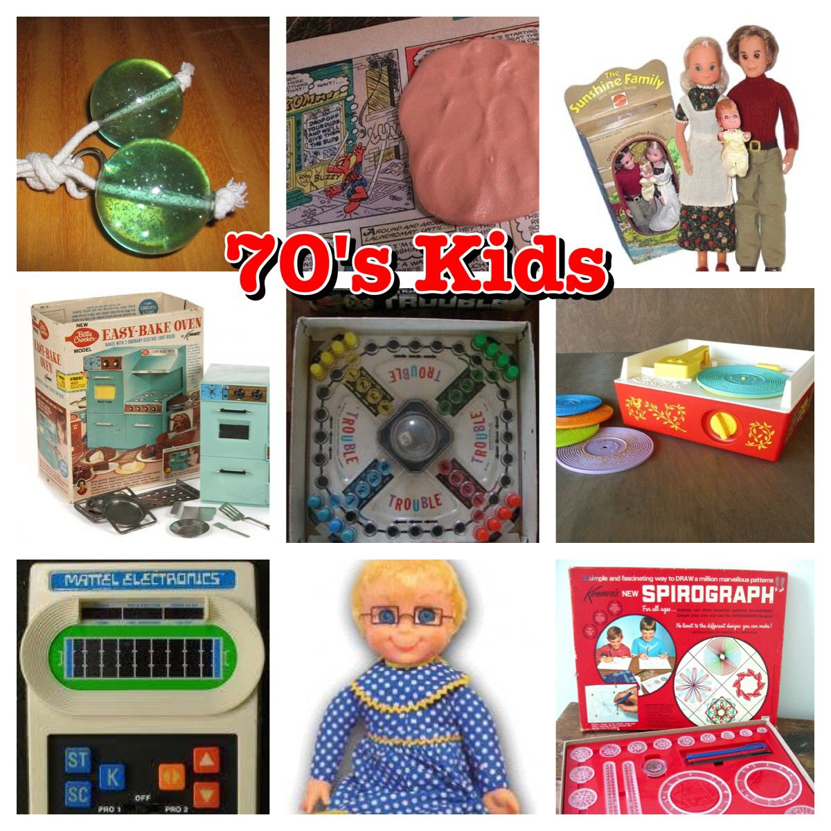 70's Kids - Toys from the 70's