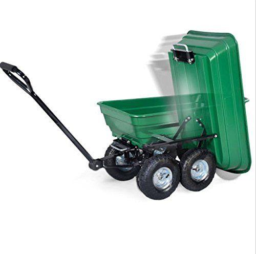 650lb Green Garden Cart Garden Cart Garden Carts On Wheels Garden Carts On Wheels Diy Garden Cart Diy Garden Car Dump Cart Garden Cart Outdoor Cart