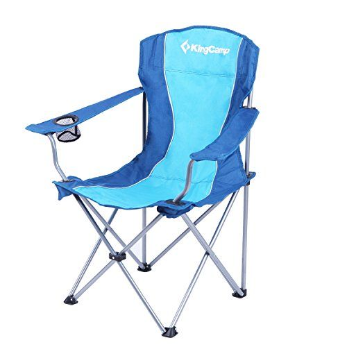 Kingcamp Steel Arms Leisure Chair 260lbs 17 Inches Seat