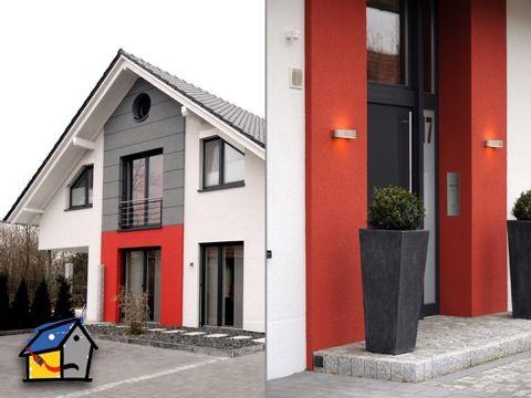 farbe statt fade hausanstrich pinterest faden farben und moderner eingangsbereich. Black Bedroom Furniture Sets. Home Design Ideas