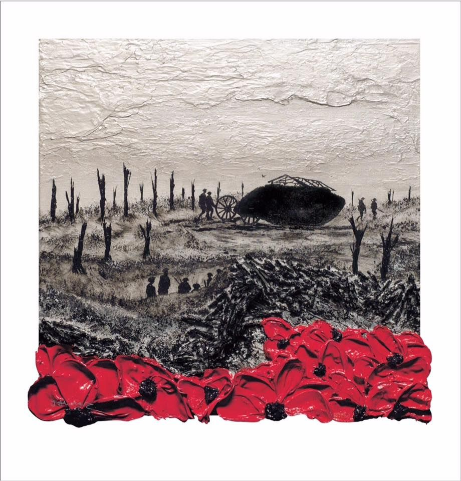 'For Mother and Her Boys, The Poppies Grow' signed limited