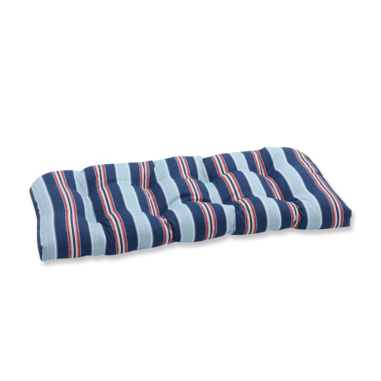 Pillow Perfect Outdoor Indoor Kingston Stripe Arbor Wicker
