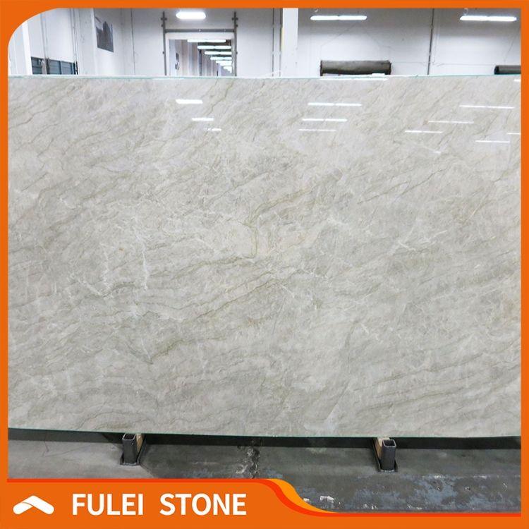 Lowes Price Victoria Falls Quartzite Granite Stone Slab For