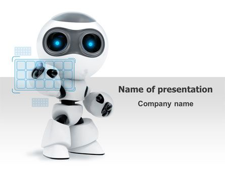http\/\/wwwpptstar\/powerpoint\/template\/robot-model\/ Robot - engineering powerpoint template