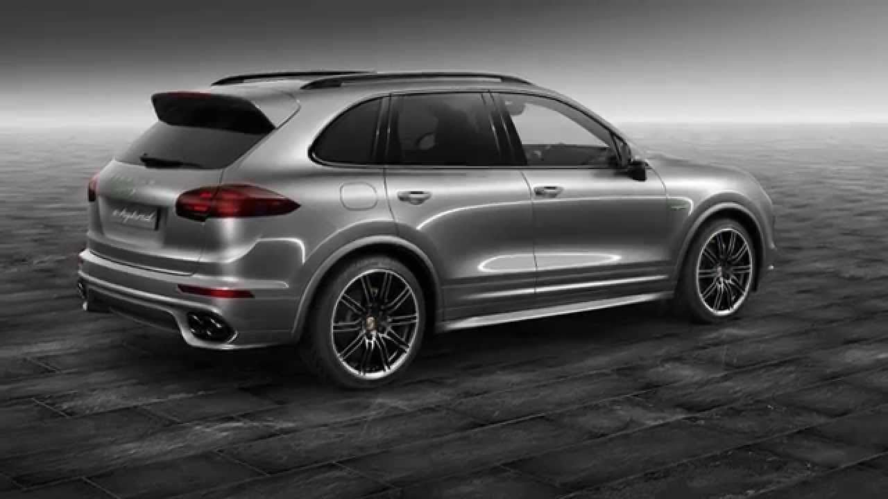 Porsche exclusive has released a cayenne s e hybrid with meteor grey metallic paint and other upgrades