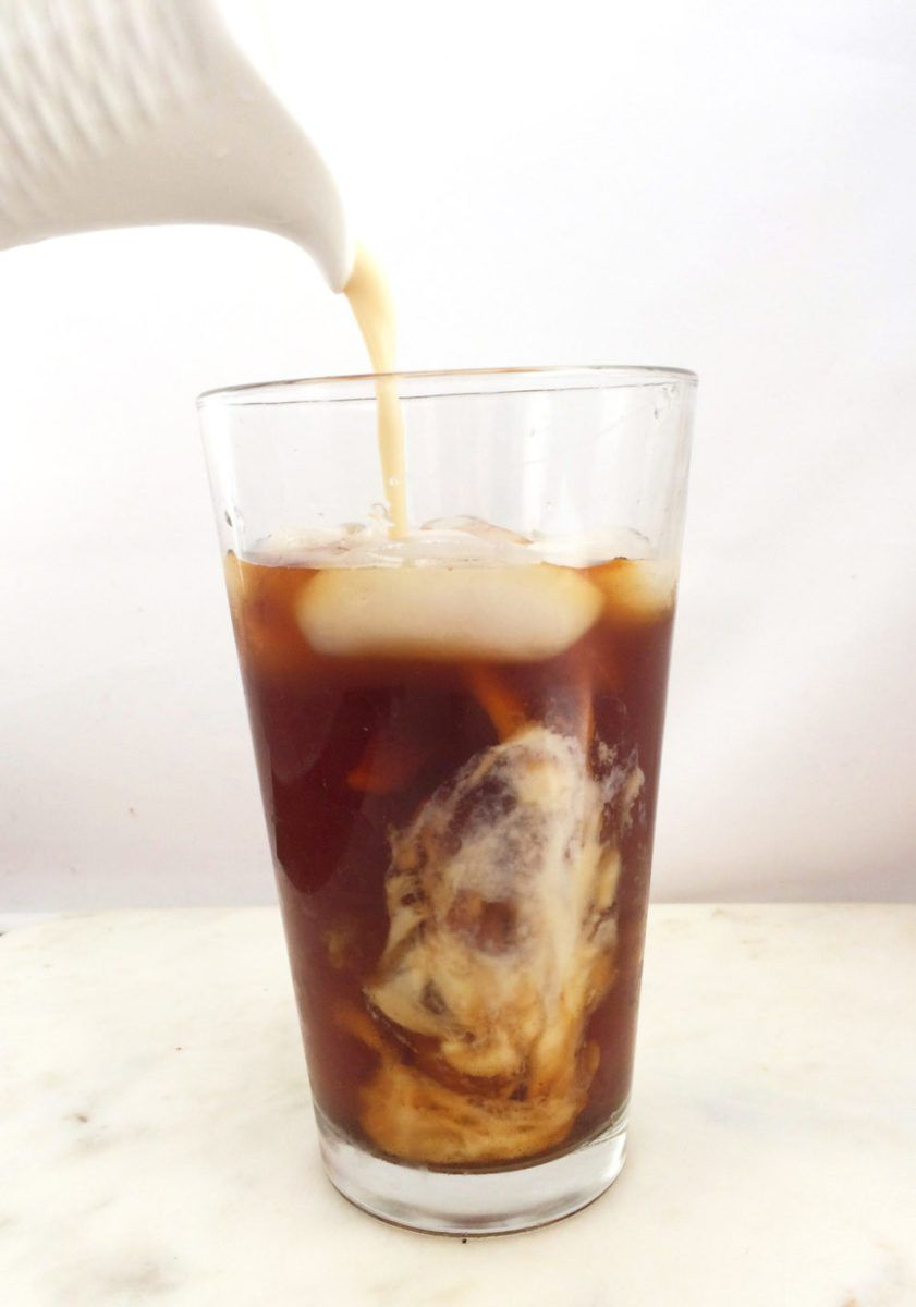Vanilla Sweet Cream Cold Brew (Copycat Starbucks Recipe) (With images) | Copycat starbucks ...