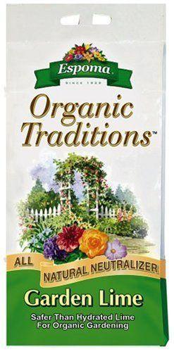 Espoma Organic Traditions Garden Lime 5 Lb Bag Mix Dolomite