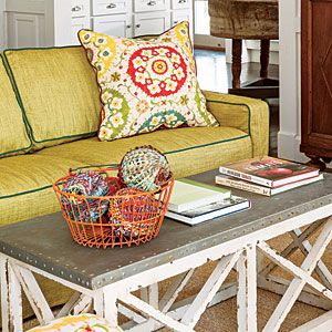 Smart Cottage Style Home   14. Sleeper Sofa   SouthernLiving.com