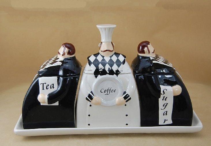 Top 10 Unusual Tea Coffee And Sugar Sets Storage Jars Coffee Storage Jar Storage Tea
