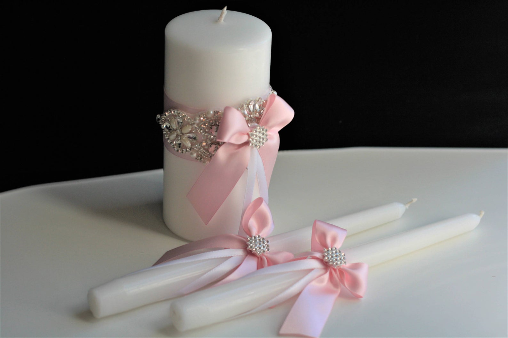 Pink Candles Wedding Candles Unity Candles Wedding Unity Etsy Floating Candles Wedding Pink Candles Floating Candle Centerpieces Wedding