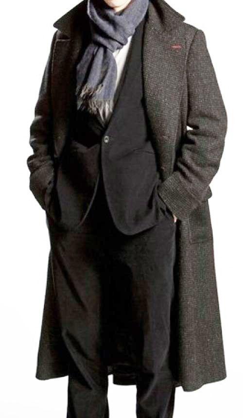 Sherlock Holmes Coat Herren Mode Sherlock Mantel Mantel
