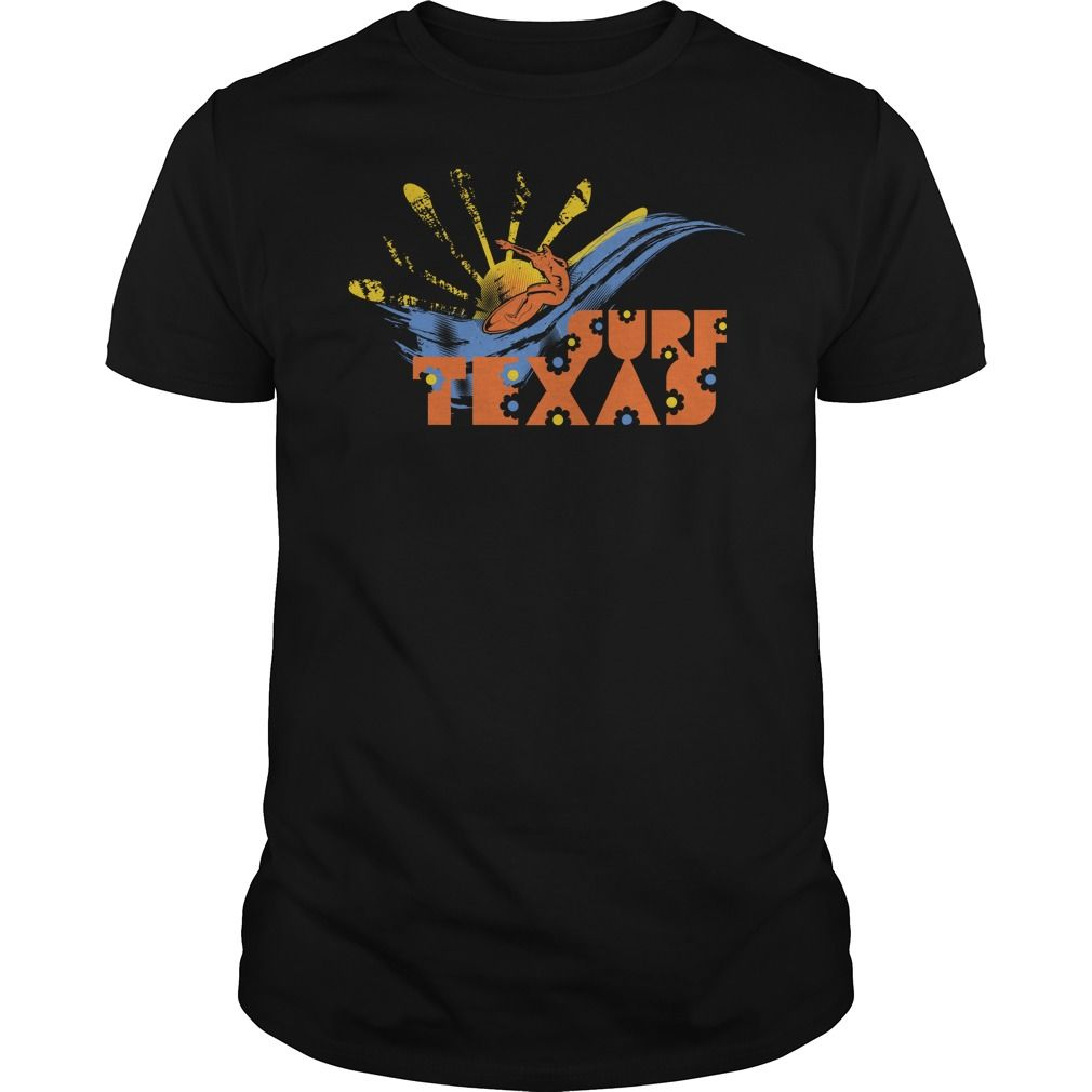 Surf Texas T-Shirts, Hoodies. BUY IT NOW ==► https://www.sunfrog.com/Sports/Surf-Texas-90638985-Black-Guys.html?id=41382