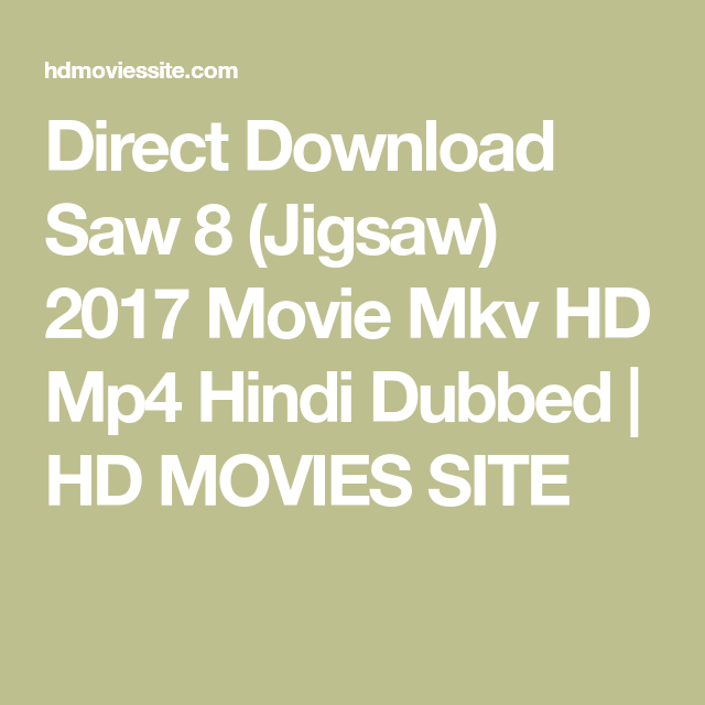 saw 8 full movie 2017 download