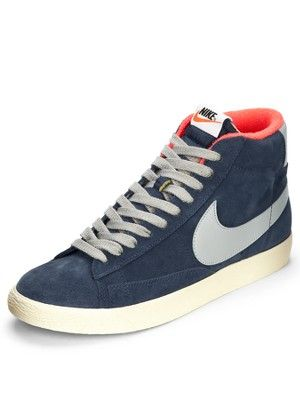 Littlewoods Ireland | Online Shopping | Fashion & Homeware. Mens  TrainersNike BlazersHigh TopsMen's FashionMen's Sneakers
