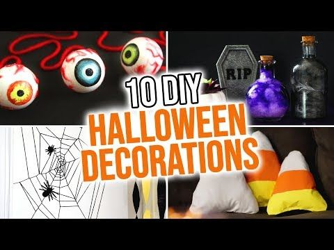 10 DIY Halloween Decoration Ideas - HGTV Handmade - YouTube