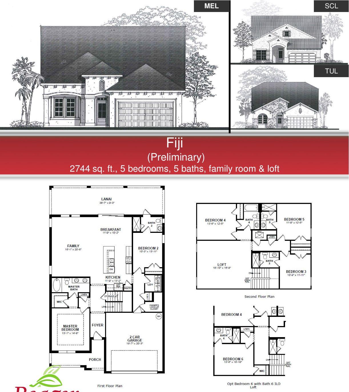 Beazer Homes Floor Plans Simple House Plans Fiji Front Design