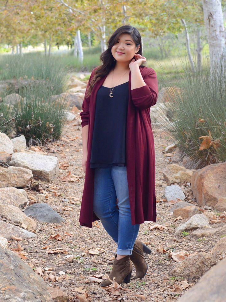 Kurvige Mädchen Chic Plus Size Herbst Outfit Ideen – Plus Size Mode für Frauen