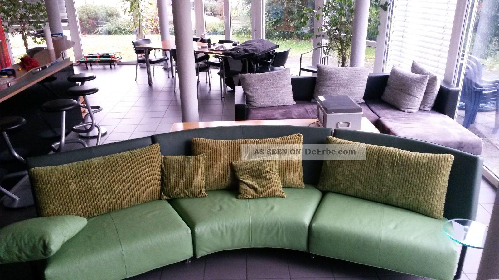 sofa halbrund leder - Google-Suche