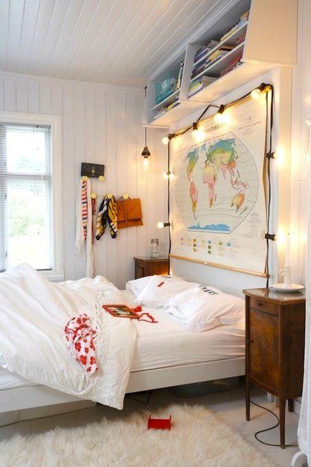 lucecitas para el cuarto home sweet home Pinterest Decoracion - decoracion de cuartos