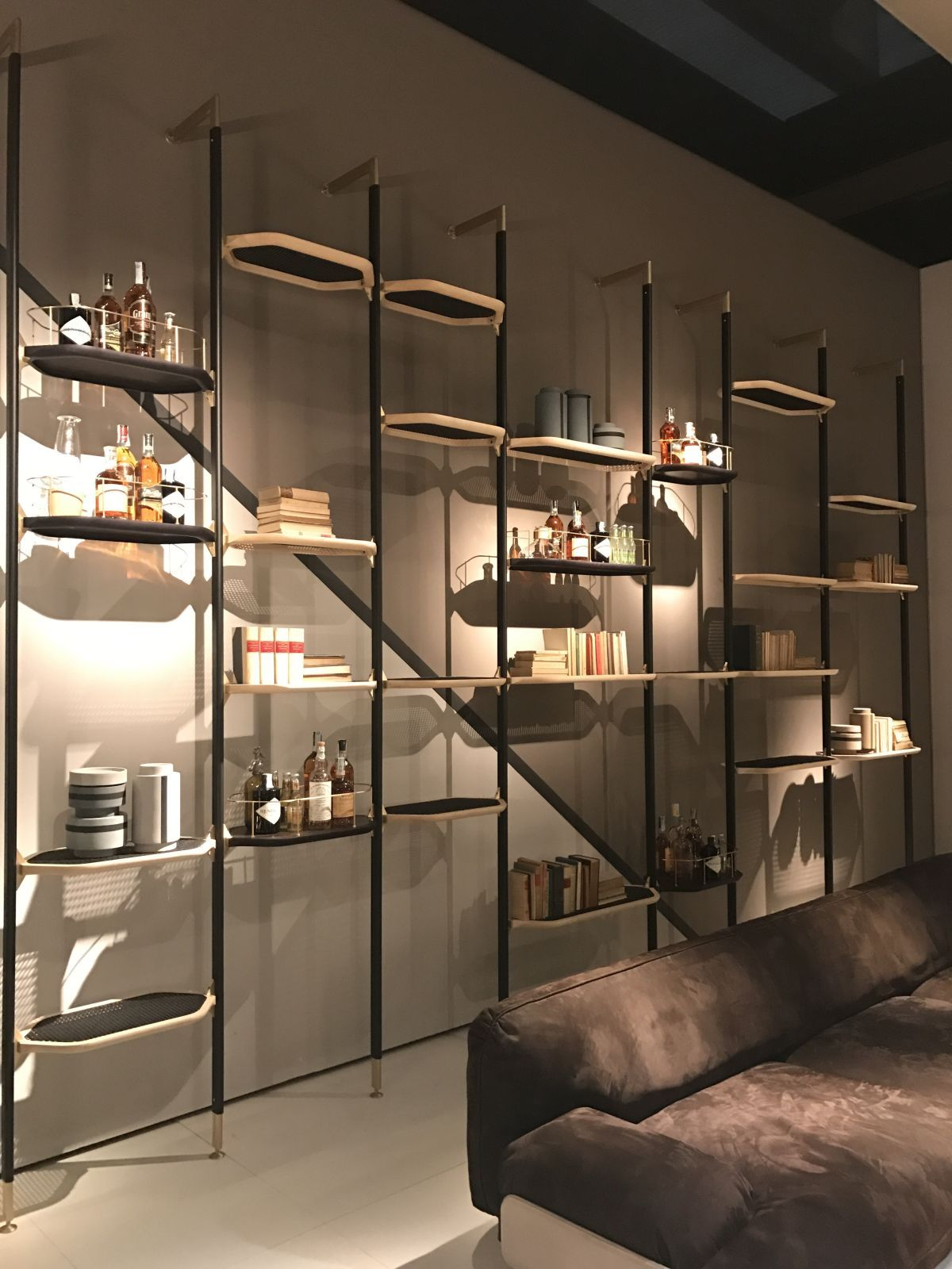 Small Of Asymmetrical Wall Shelf