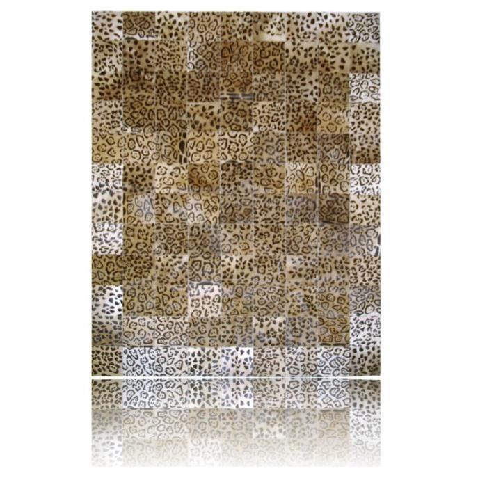 Tapis Peau de vache patchwork 240 cm x 180 cm