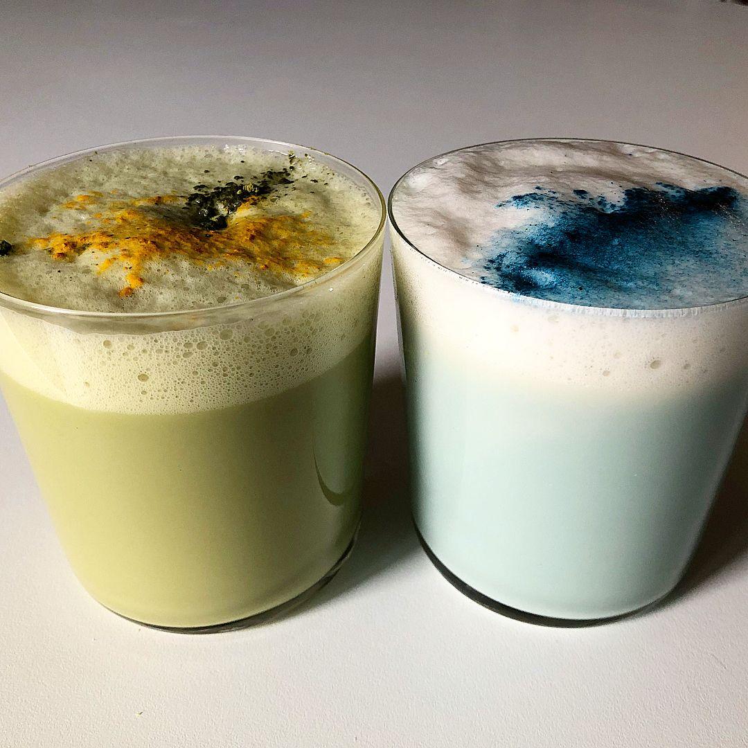 Star Wars Thala Siren And Bantha Milk Lattes! Made With
