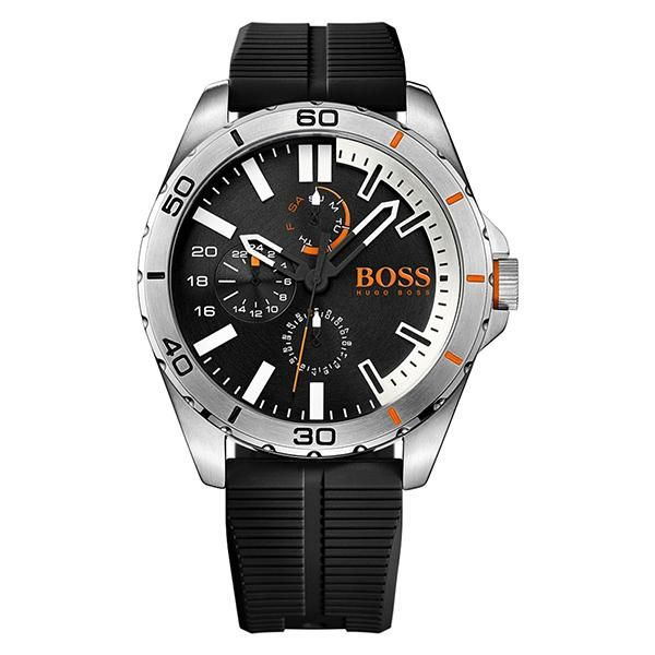 c391ede09 Hugo Boss Watches · Berlin Black Dial Black Silicone Strap Men's Watch Mens  Designer Watches, Cool Watches, Watches