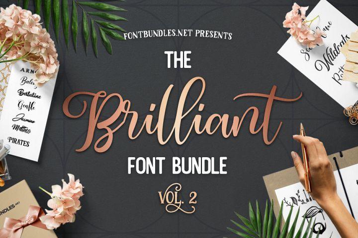Download The Brilliant Font Bundle Volume II has arrived. Jam ...