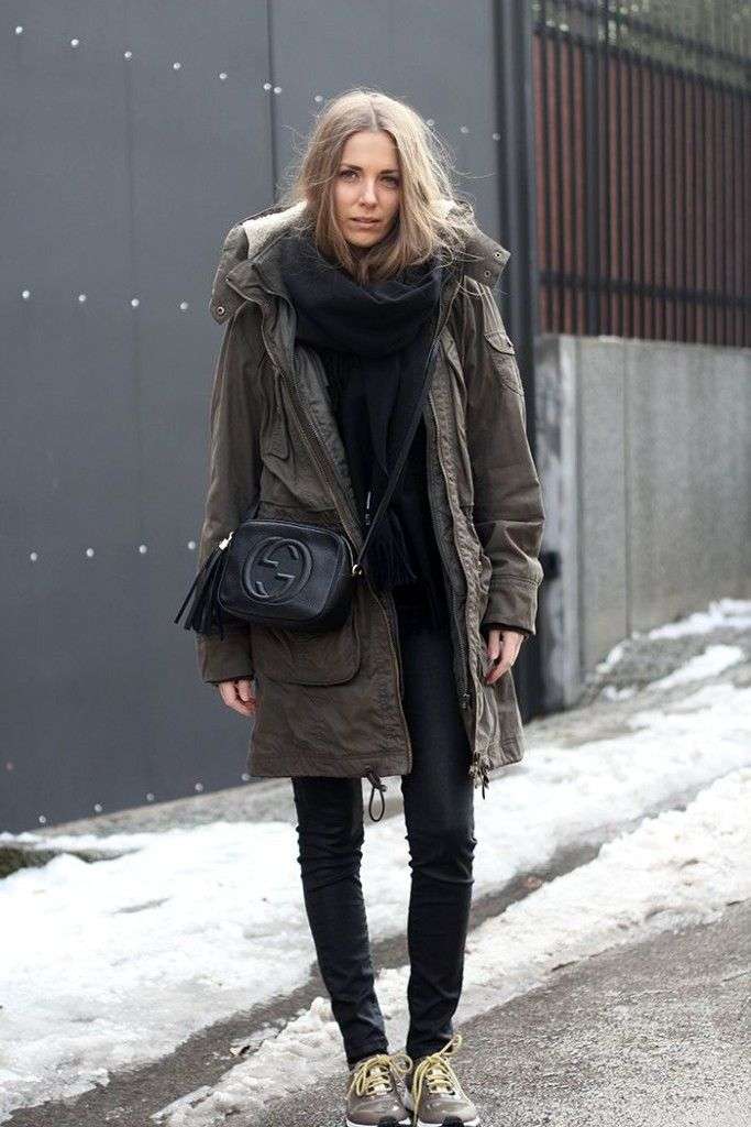 7eae66ccc2dd How To Wear Winter Parkas (  Look Cool)