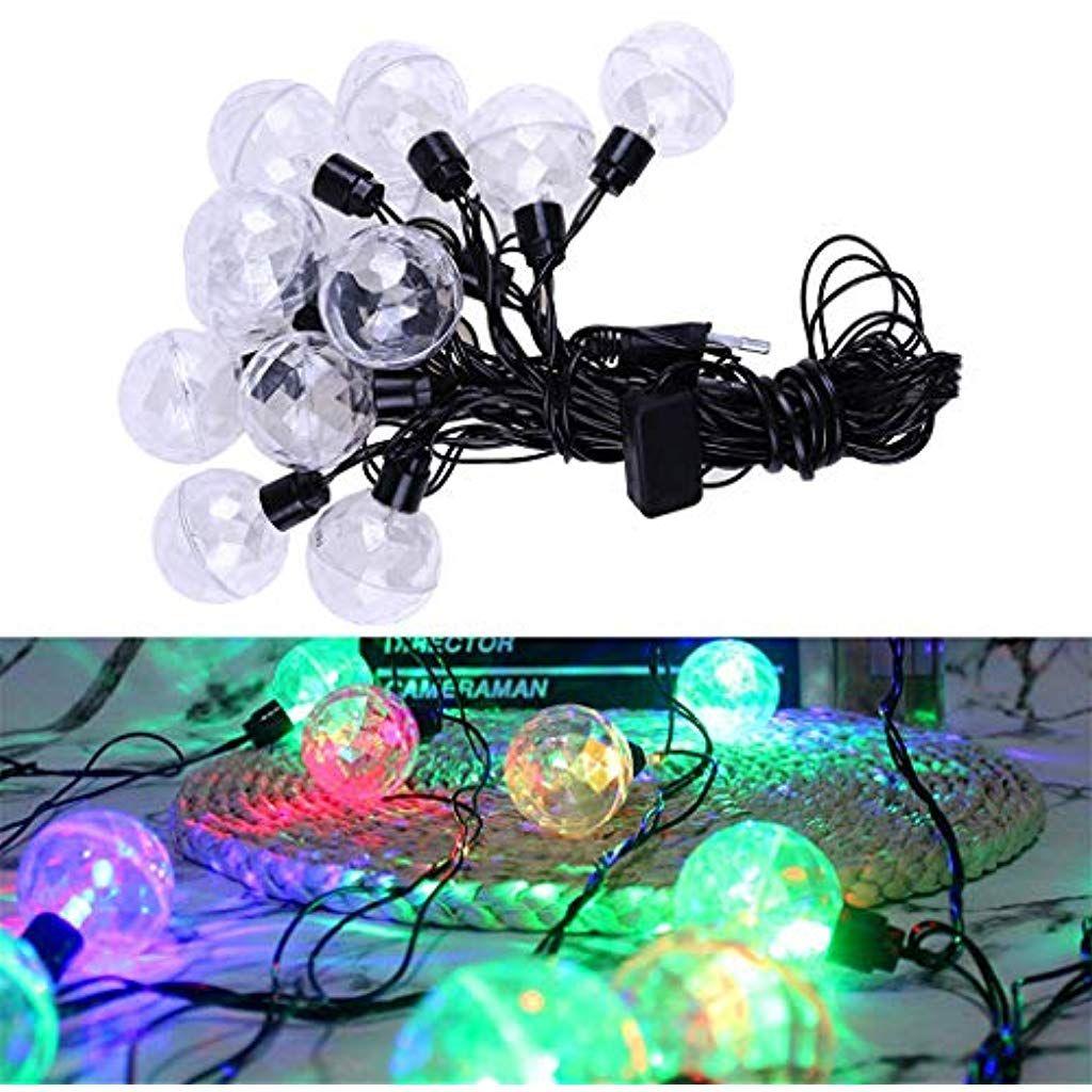 Soundja Beleuchtung Lichterkette Dekoration Lichter Mit 10 Led Perlen Buhnen Bunte Grelle Dekorative Lichterkette Far Dekorative Lichterketten Led Lichterkette