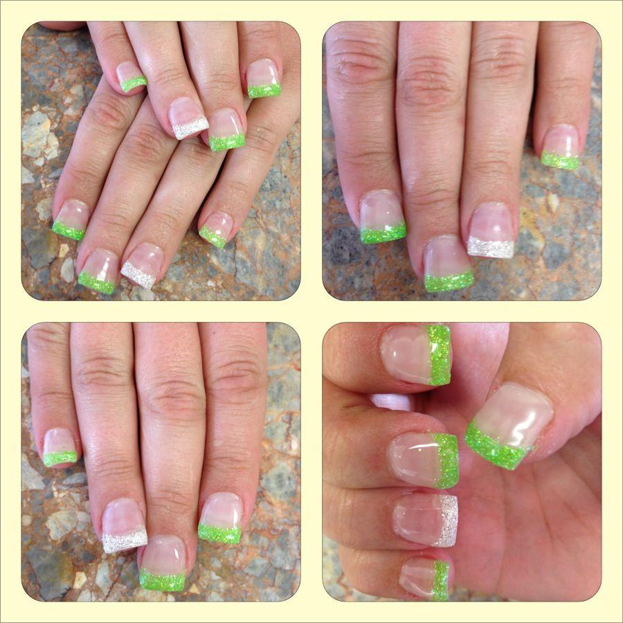 Colorful Diamond Full Set Nails Inspiration - Nail Art Ideas ...