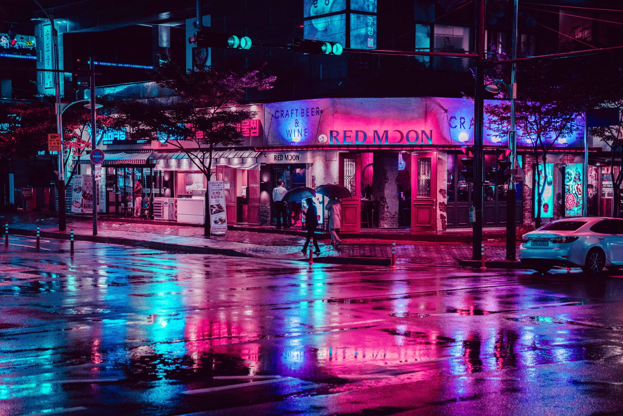 Photography City City Lights Street Night Neon Lights Urban 1080p Wallpaper Hdwallpaper Desktop