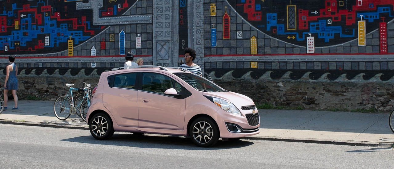 2013 Chevrolet Spark Mini Car My Dream Car Yes Mostly Because Of The Color Pink Paleness Chevrolet Spark Car Chevrolet Fuel Efficient Cars