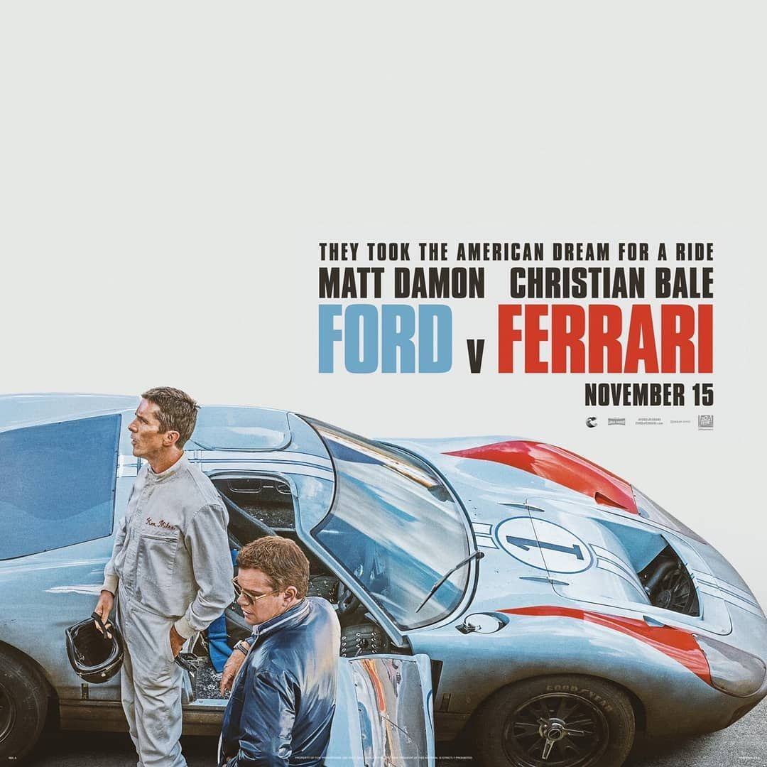 James Mangold S Fordvferrari Starring Christian Bale Matt Damon