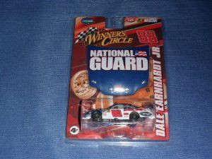 2008 NASCAR Winner's Circle . . . Dale Earnhardt Jr. #88 National Guard Chevy Monte Carlo Race Car 1/64 Diecast . . . Includes 1/24 Scale Hood Magnet