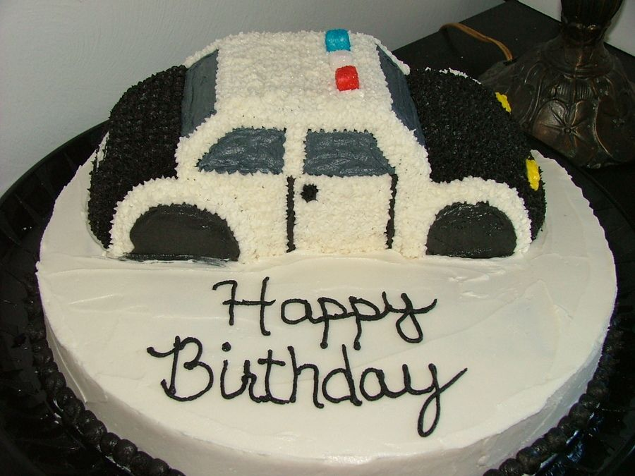 police car cakes pictures Police Car cake Childrens Birthday