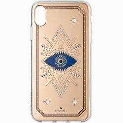 Photo of Tarot Eye smartphone case, iPhone® Xs Max, pink gold SwarovskiSwarovski