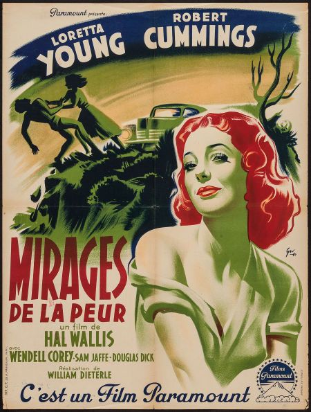 Movie Posters:Mystery, The Accused (Paramount, 1949). French Affiche (23.... Image #1