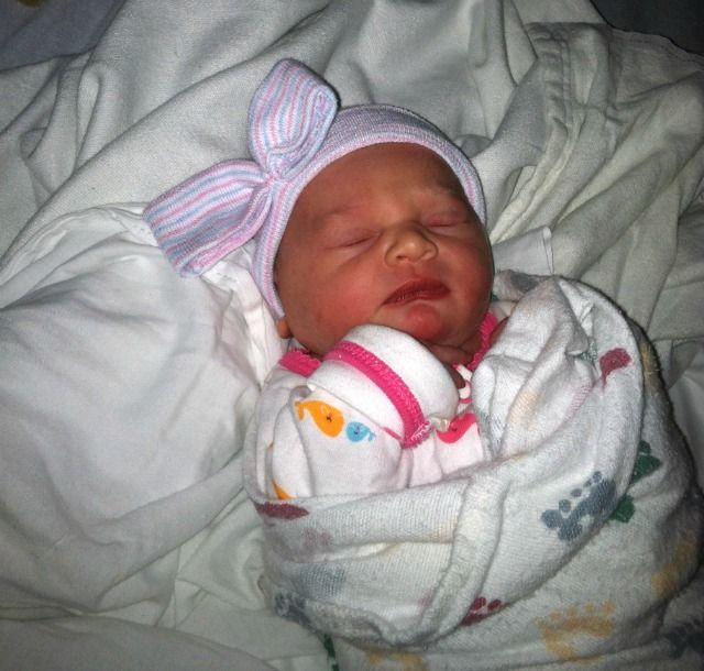 Newborn Baby Boy In Hospital Just Born