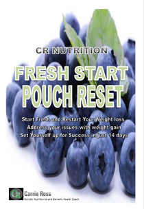 Pouch Reset Keto Reset Bariatric Pouch Reset Gastric Bypass