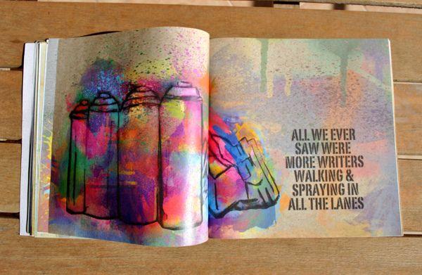 Graffiti Quotes by vale agapi, via Behance