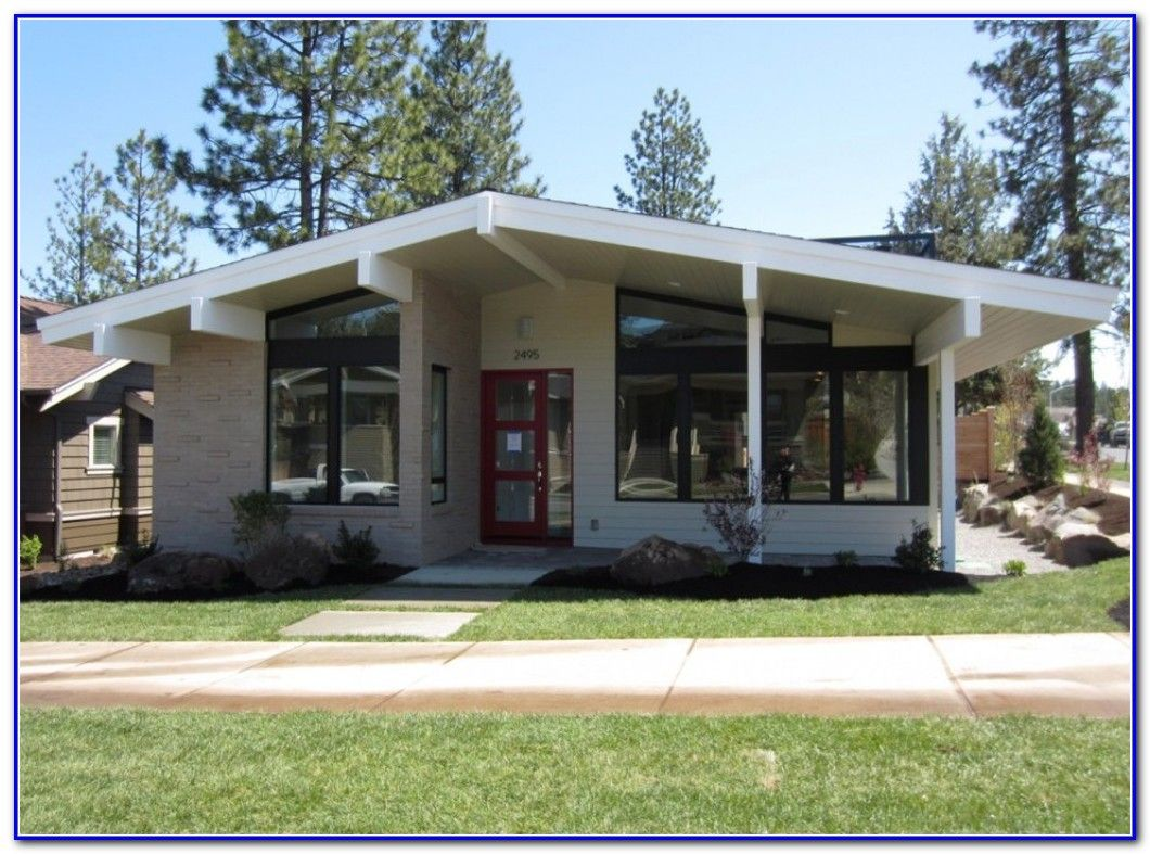 mid century modern exterior house paint colors - Mid Century Modern Home Exterior Paint Colors
