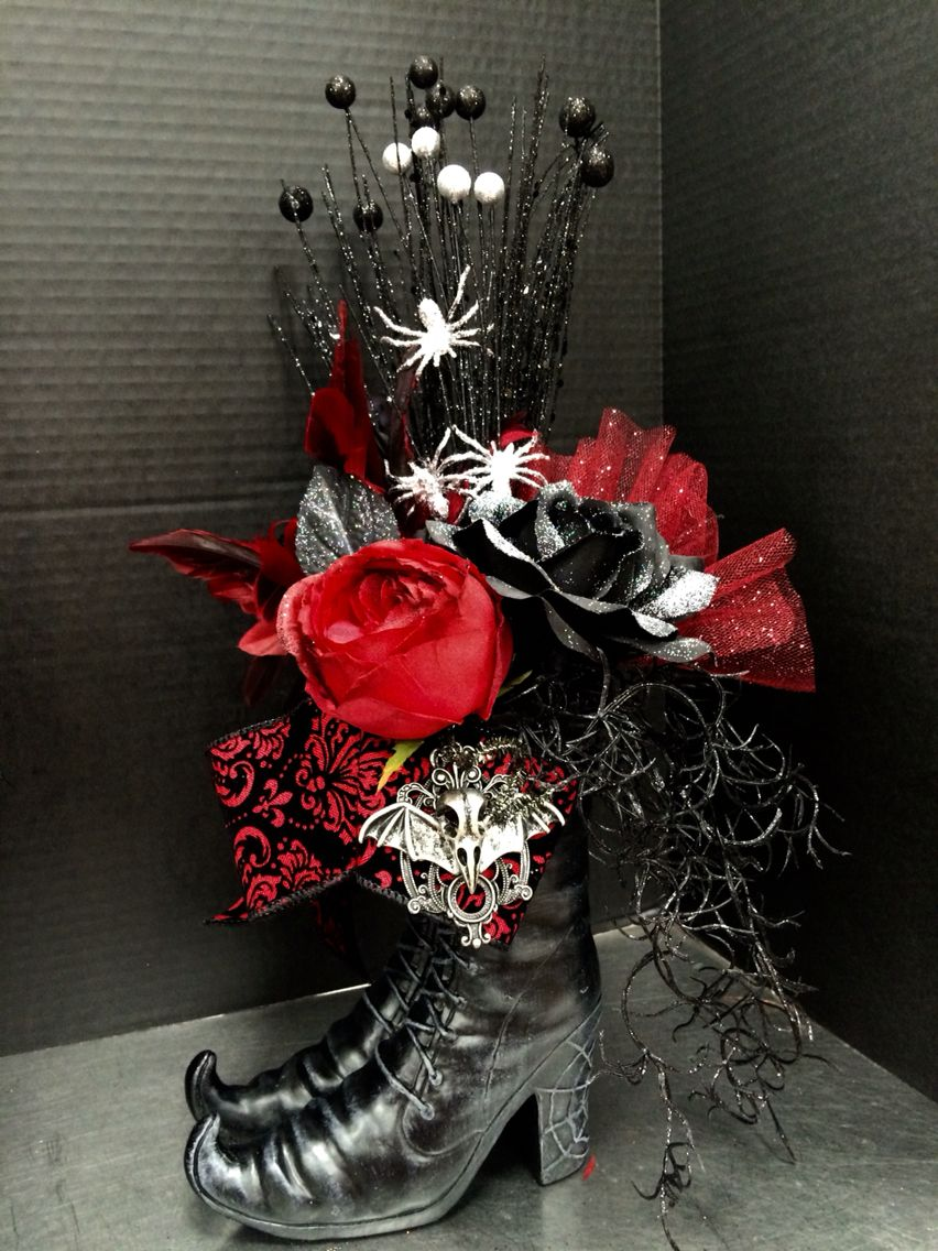 Witchy boots 2016 by andrea 2018 halloween to do pinterest witchy boots 2016 by andrea halloween flower arrangementshalloween izmirmasajfo Choice Image