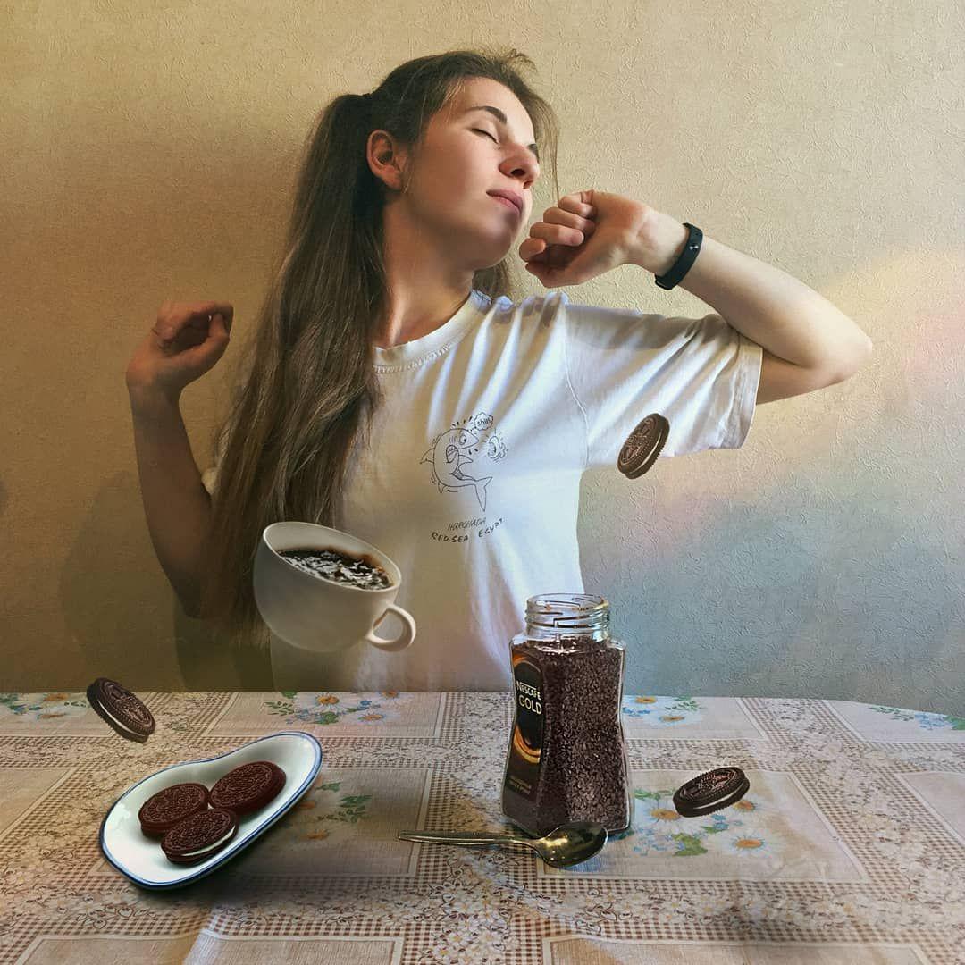 Вкусный завтрак, музыка и немного магии 💫 А с чего ...