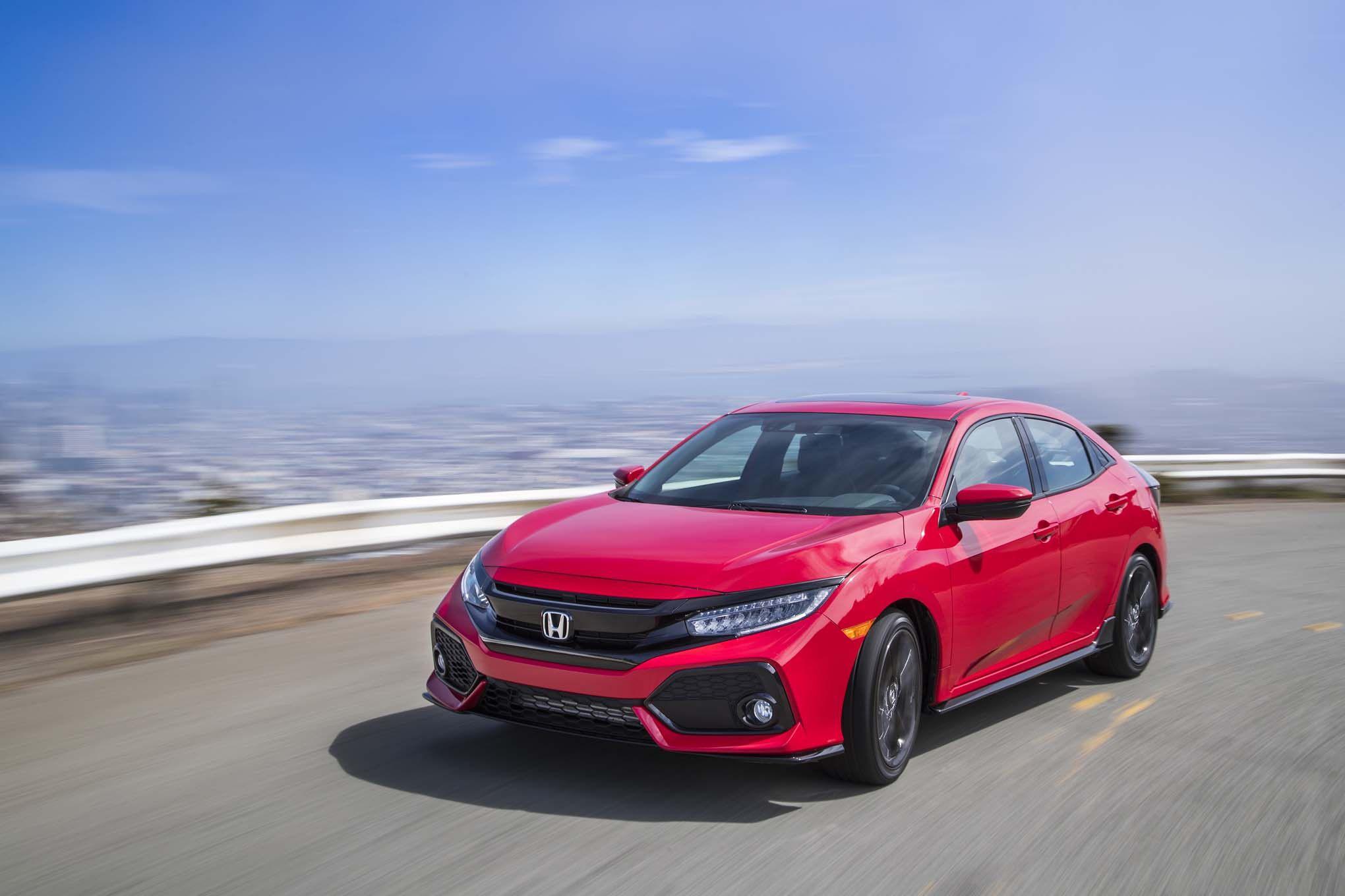 42 2017 Honda Civic Hatchback Sport Xj5s di 2020 Honda