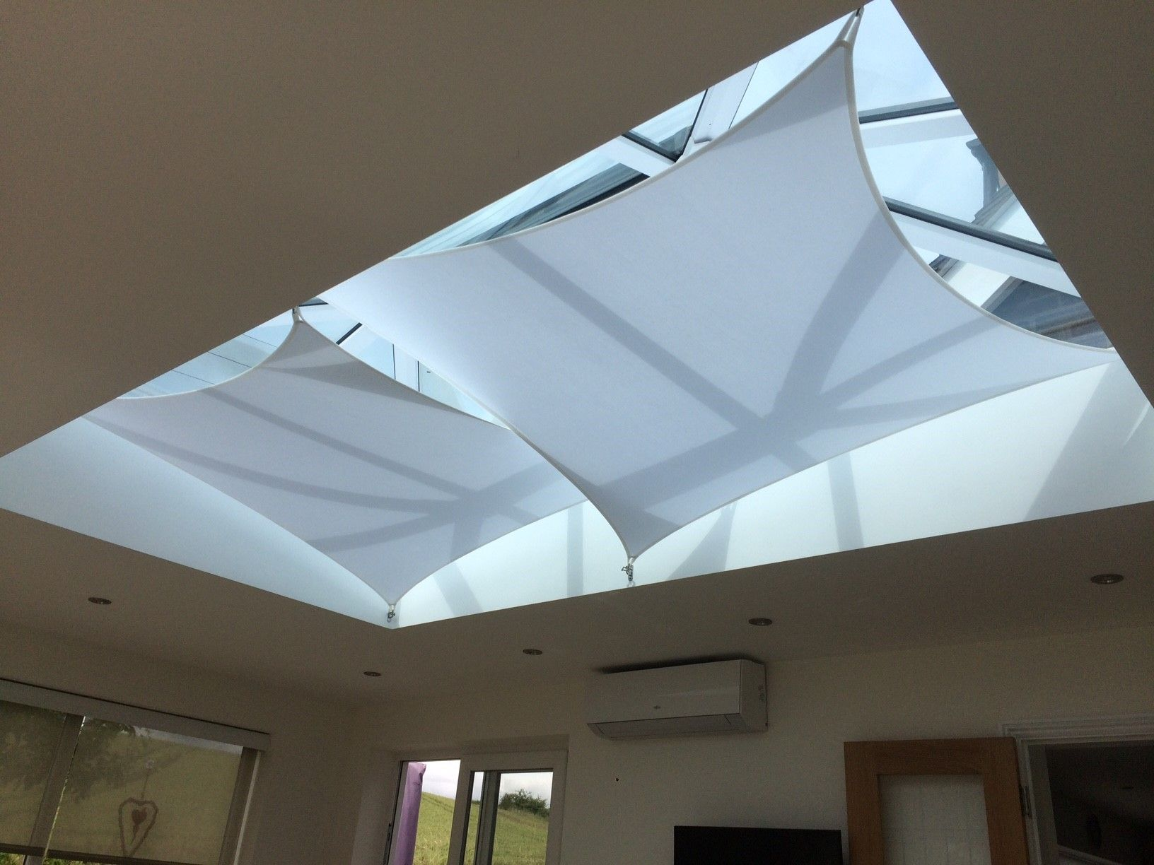 Pin By Graciela Dubon On Conservatory Designs Skylight Shade Conservatory Roof Blinds Skylight Blinds