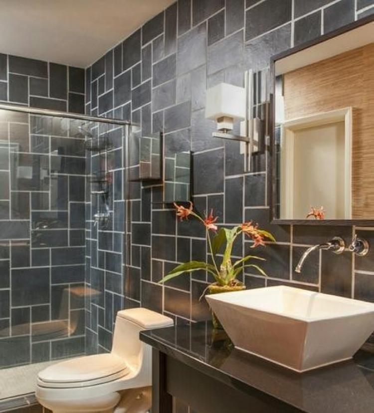 unusual design bathroom tiles ideas  slate bathroom floor