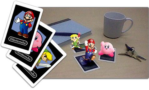 Ar Cards From Nintendo 3ds Augmented Reality Feature Interesting Premise Yet In Reality The Character Cards Need Further Develop Realidade Aumentada Realidade