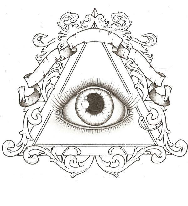 illuminati tattoo idea | tattoo inspiration | pinterest | tatouage